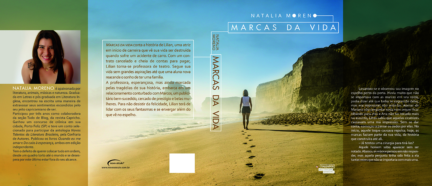 Marcas da vida de Natalia Moreno