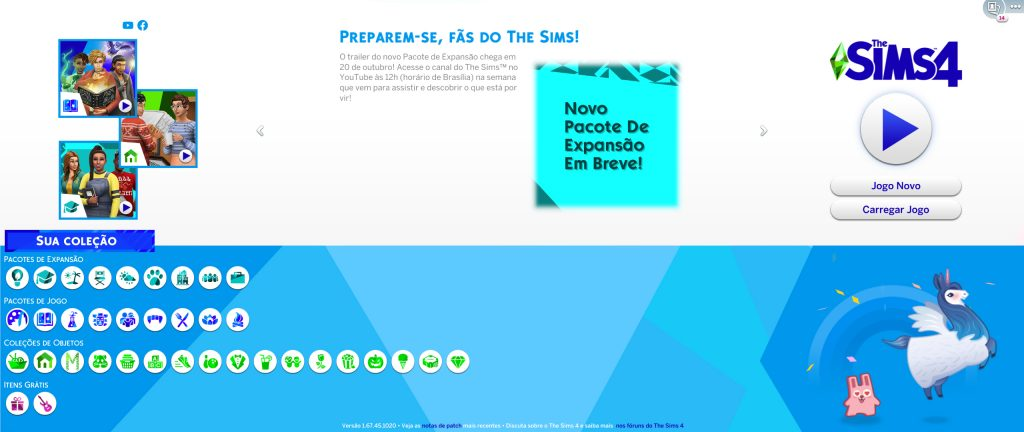 Nova expansão The Sims 4