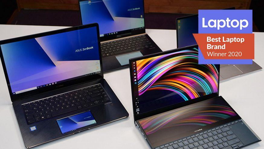 ASUS é eleita a melhor marca de notebooks de 2020 pela Laptop Mag