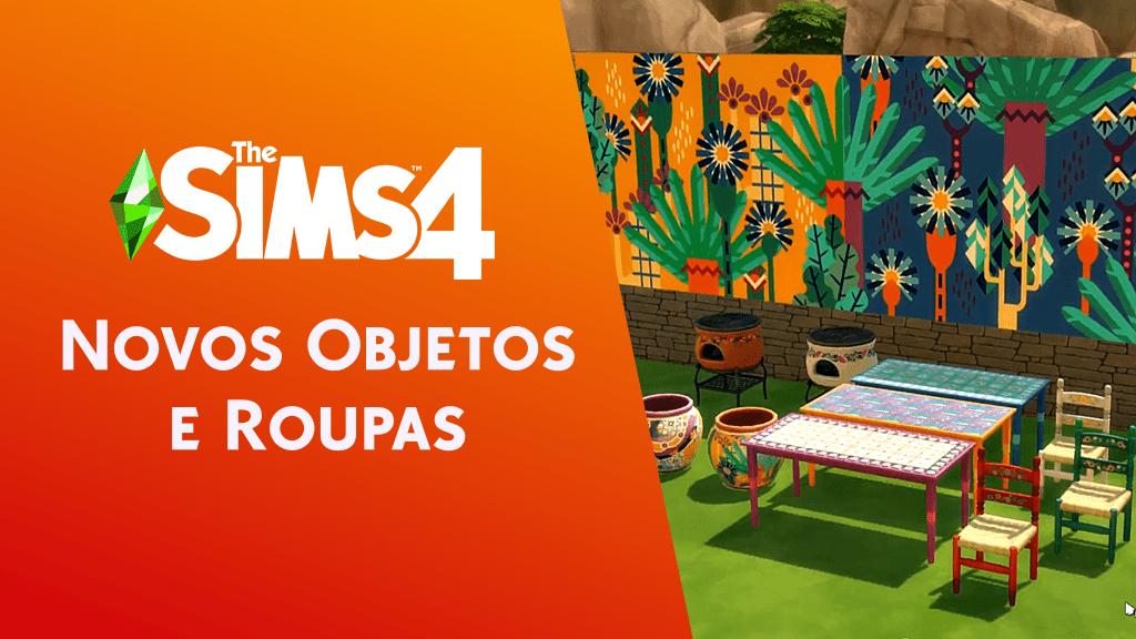 Roupas e objetos inspirados na América Latina são anunciados no The Sims 4