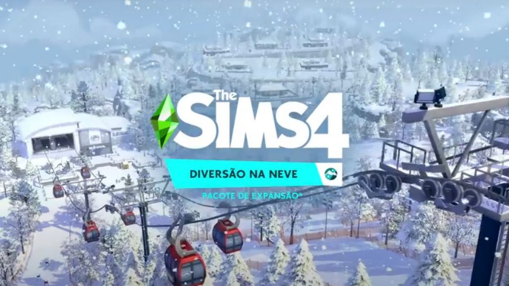 The Sims 4 Diversão na Neve