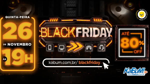 13ª edição do Black Friday KaBuM!