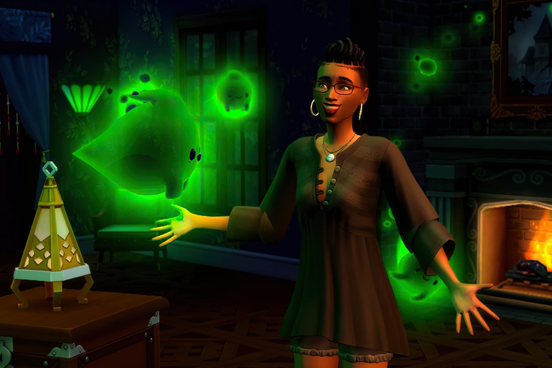 The Sims 4 Assombrado
