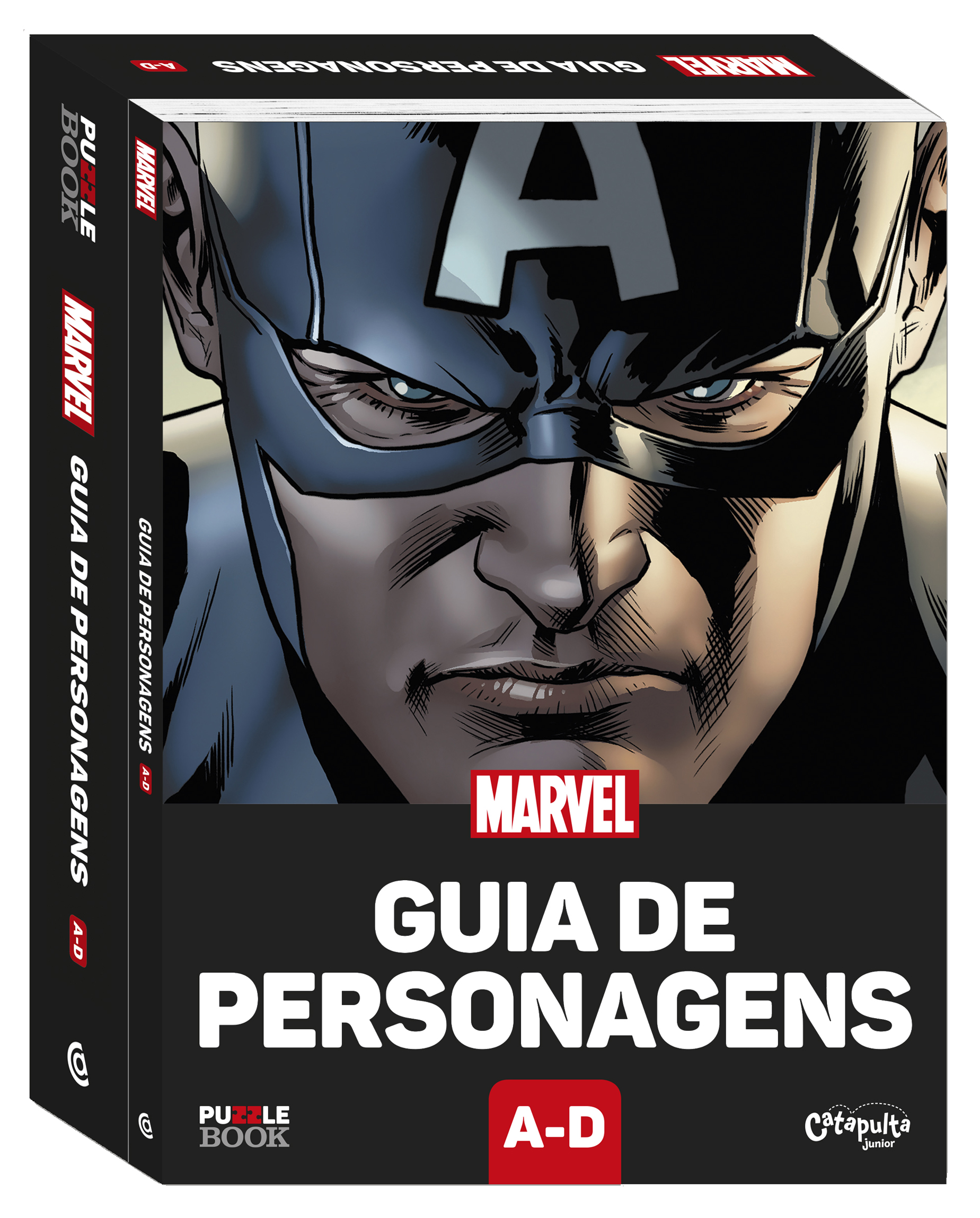 Heróis da Marvel viram puzzle books