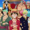 Álbum de figurinhas do One Piece