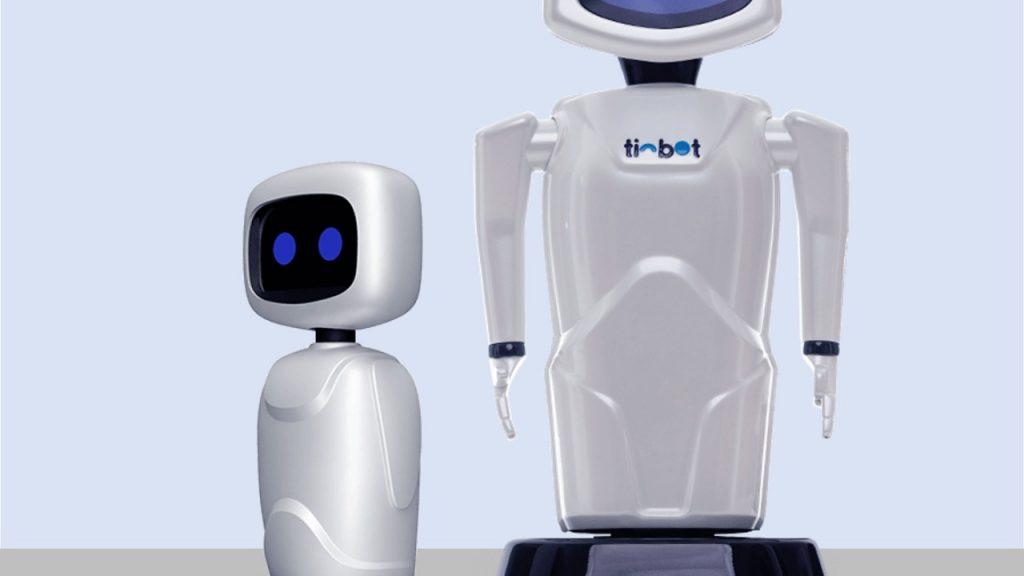 Com seu design ainda mais clean, o Tinbot X é um robô para o segmento de entrada. Divulgação