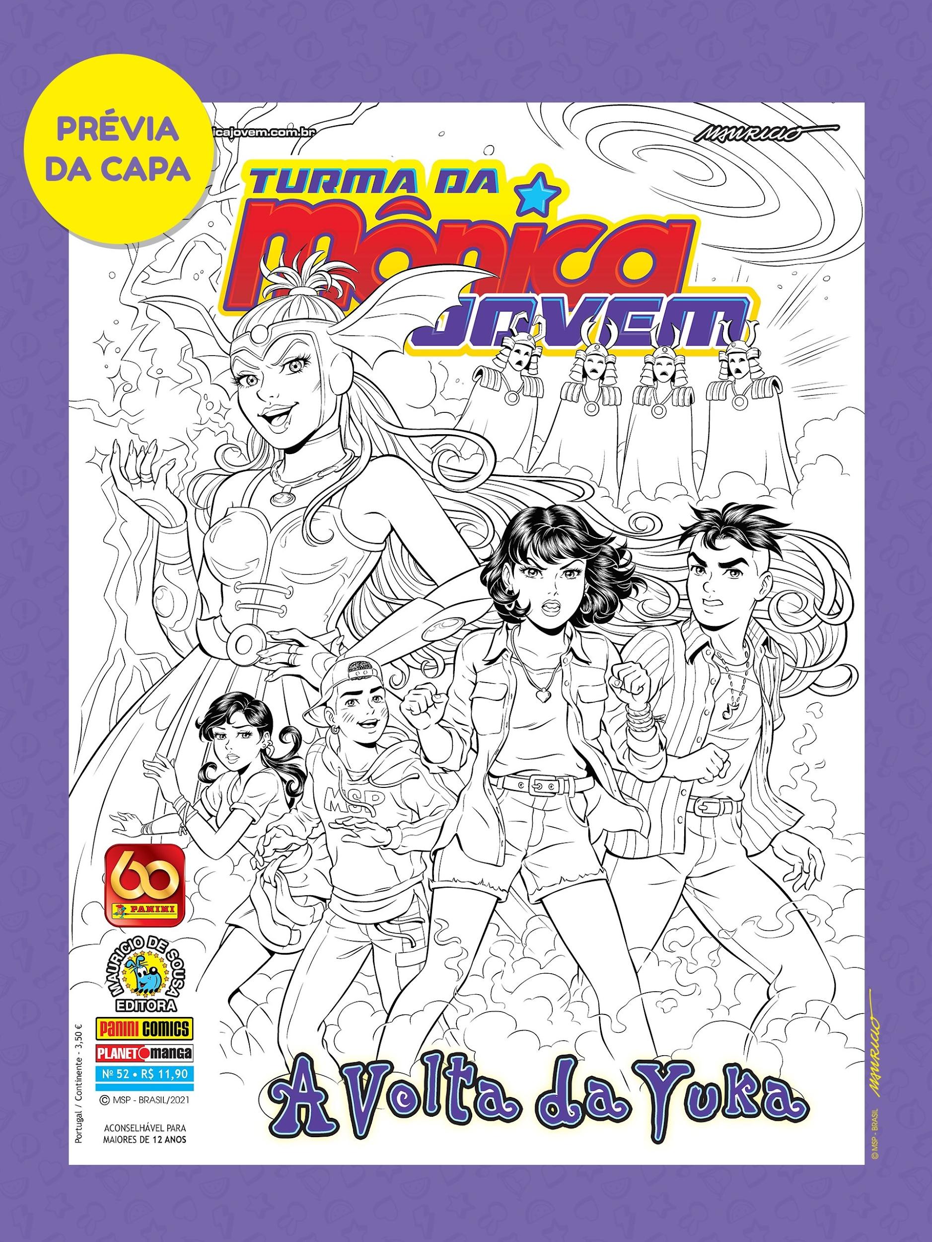 Feiticeira Yuka retorna em Turma da Mônica Jovem - 52