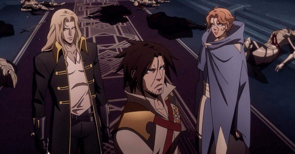 O spin-off do anime Castlevania
